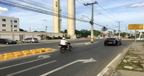 Trânsito na Avenida Artêmia Pires garante mais segurança na Nóide Cerqueira