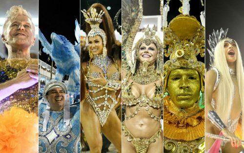 Escolas destaques do segundo dia do carnaval do Rio