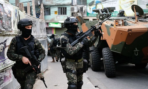 Câmara votará hoje decreto de intervenção federal na segurança do Rio