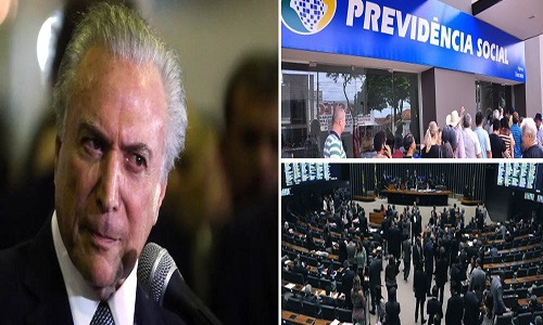 DEPUTADOS ABANDONAM TEMER DE VEZ E ENTERRAM REFORMA