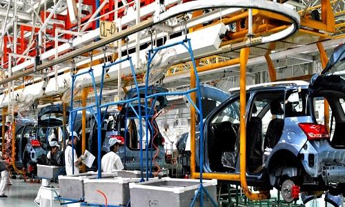 A industria automobilística tem crescimento no Brasil