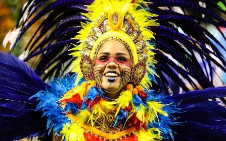 Acadêmicos de Tatuapé é campeã do desfile em São Paulo