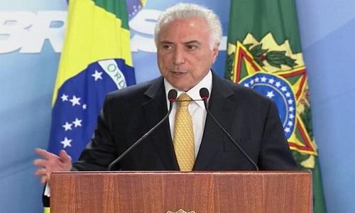 Temer nega que a intervenção federal do RJ tenha interesses eleitorais