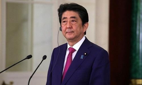 Shinzo Abe deseja manter a pressão sobre a Coreia do Norte