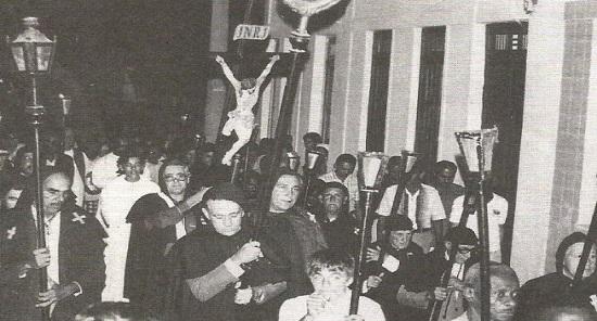 Mulheres não participavam da Procissão do Fogaréu em Feira de Santana