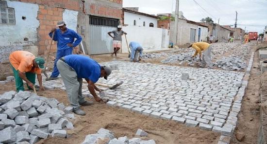 Prefeitura homologa licitação para pavimentação de 58 ruas