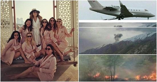 11 mulheres morrem em queda de avião quando voltavam de despedida de solteira