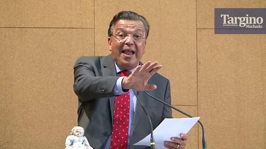Deputado Targino Machado faz forte pronunciamento na Assembléia Legislativa