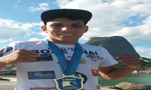 Cearense Alexandre é campeão mundial de Muay Thai na Tailândia