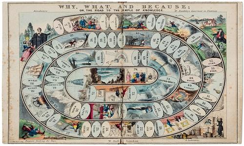 Obras de arte que foram jogos de tabuleiro do século 19