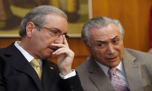 Temer é intimado a depor como testemunha de defesa de Cunha