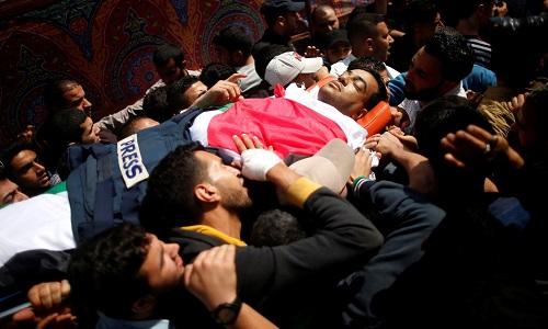Aumenta número de mortos na fronteira entre Gaza e Israel