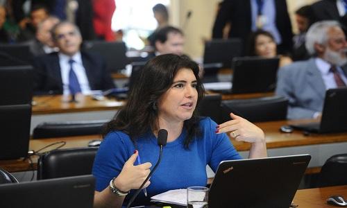 Simone Tebet vira líder do MDB no Senado