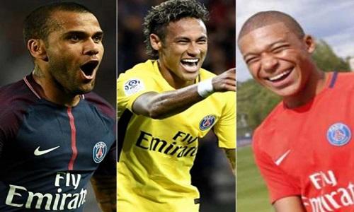 """Areola:""""Neymar, Alves e Mbappé deram ainda mais renome"""" ao PSG"""