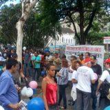 Professores das universidade estaduais da Bahia fazem manifestação em Salvador