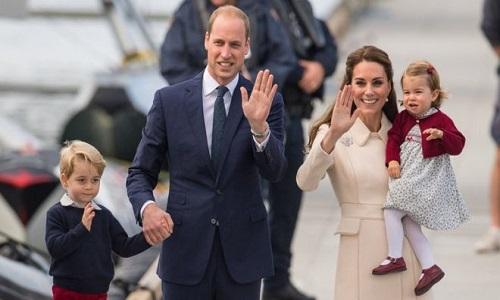 Nasce em Londres terceiro filho do príncipe William