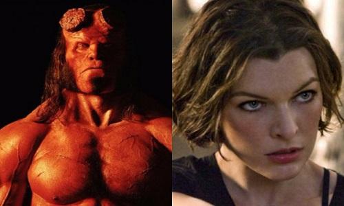 Milla Jovovich revela novo banner de Hellboy