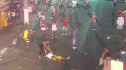 Homem é esfaqueado na área de palco no circuito Maneca Ferreira da Micareta 2018