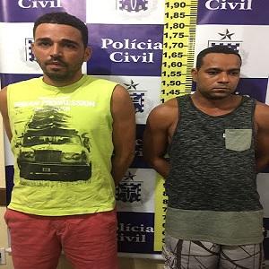 Dupla é presa acusada de roubos de postos na Bahia