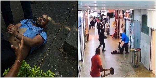 Homem tenta matar a esposa em shopping diante de lojistas e clientes