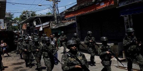 Dobra o número de chacinas no Rio após a intervenção, diz observatório