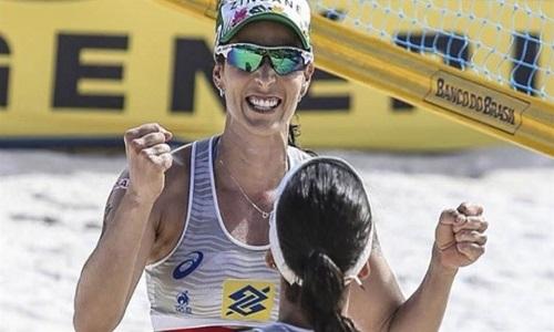 Brasil tem início 100% na chave feminina de etapa chinesa do vôlei de praia