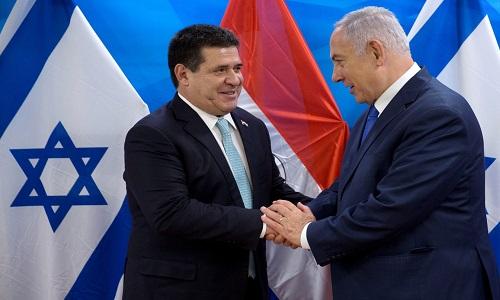 Horacio Cartes inaugura embaixada do país em Jerusalém