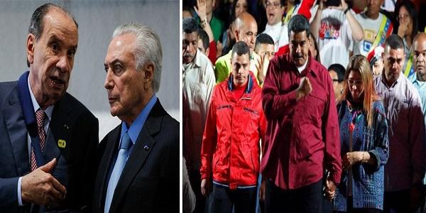 BRASIL: GOLPISTAS NÃO RECONHECEM ELEIÇÃO DA VENEZUELA