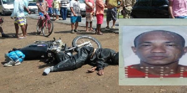 Acidente entre moto e veículo deixa uma vítima fatal em São Gonçalo