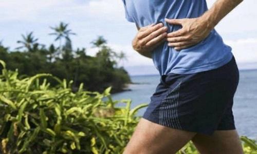 Dor na lateral da barriga após exercícios