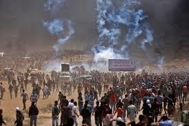Fronteira entre Gaza e Israel tem confronto antes da inauguração da embaixada dos EUA