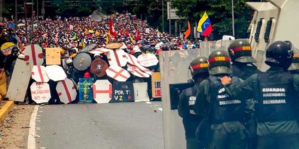 """""""Golpe de Mestre"""" em curso na Venezuela aparece em documento secreto dos EUA"""