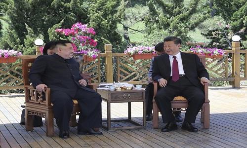 Kim Jong-un se reuniu novamente com Xi Jinping