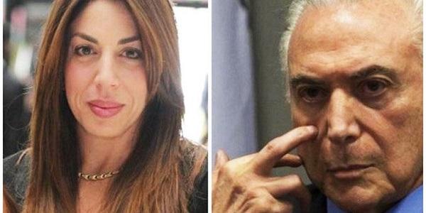 Filha de Temer presta depoimento de 4 horas à Polícia Federal