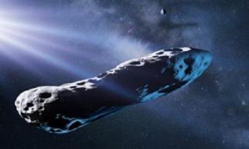 Objeto em forma de charuto é cometa, e não asteroide