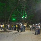 Inaugurado iluminação na Getúlio vargas