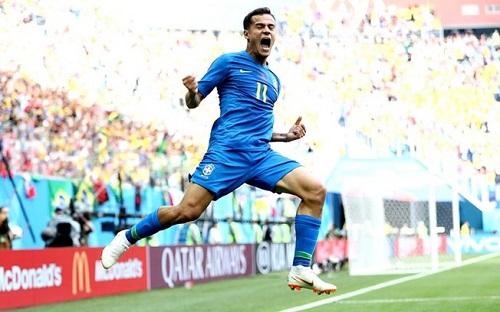 Éeeeeeee Goooooool! Brasil 2 x 0