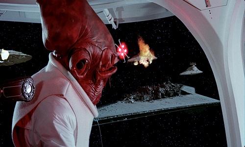 HQ revela despedida de Almirante Ackbar que Os Últimos Jedi não mostrou