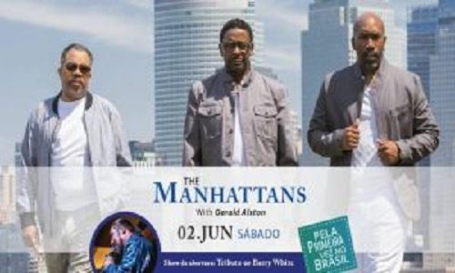 Manhattan's chegam para cantar no Brasil pela 1ª vez
