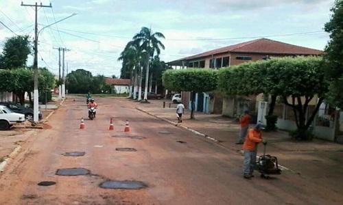 As obras de recuperação das estradas e a operação tapa buraco, vão ser retomados