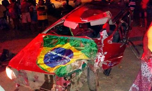 Homem morre após batida entre carro e caminhão-baú em Barreiras
