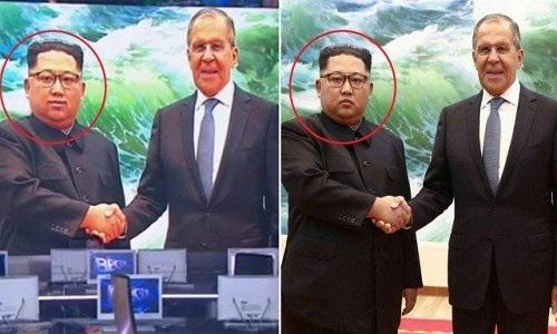 TV russa faz montagem na foto de Kim Jong-un