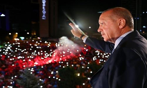 Recep Erdogan,comanda a Turquia há 16 anos e pode ficar no governo por mais dez