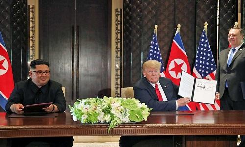 Trump afirma Coreia do Norte não é mais ameaça