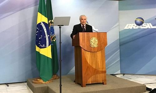 Temer anuncia Ivan Monteiro como presidente da Petrobras