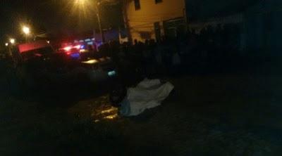Duplo homicídio foi registrado no Tomba