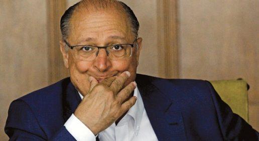 Golpistas fecham com Alckmin