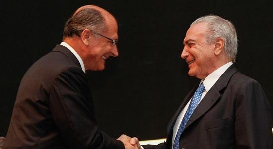 Temer, Alckmin e centrão: tudo a ver!