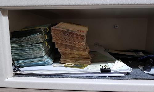 Polícia Federal encontrou R$ 95 mil reais em espécie no apartamento do assessor do deputado federal Nelson Marquezelli