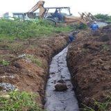 Prefeitura realiza obra de dreno profundo e rebaixamento do lençol freático, na avenida Iguatemi